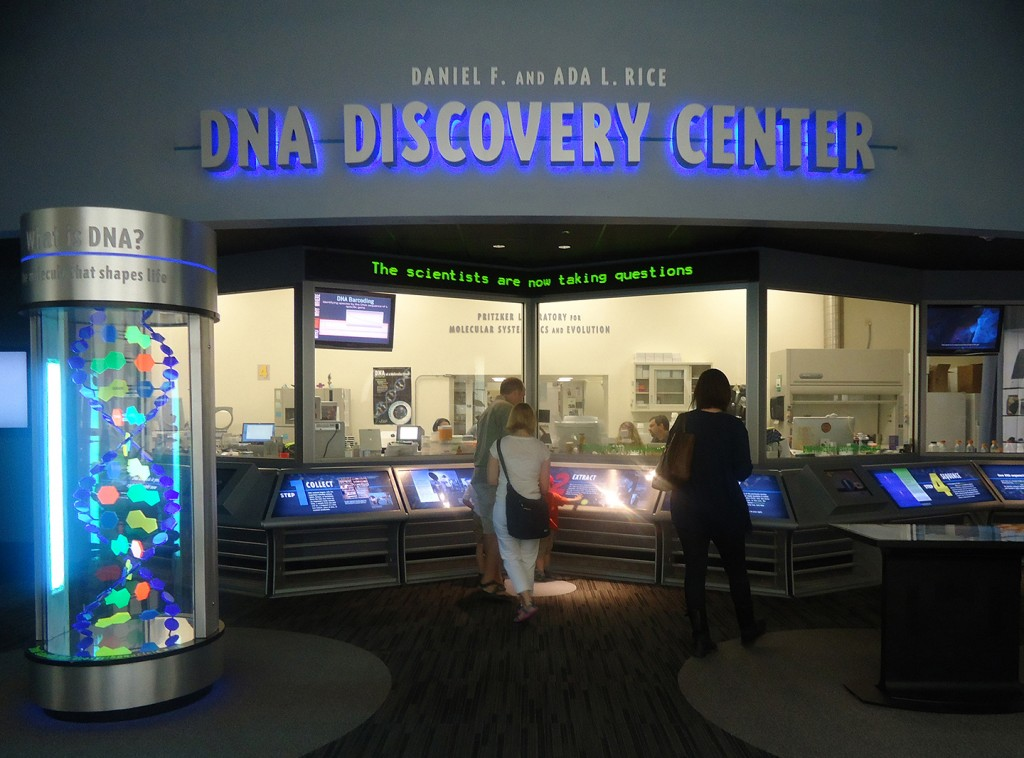 DNA Discovery Center at Field Museum