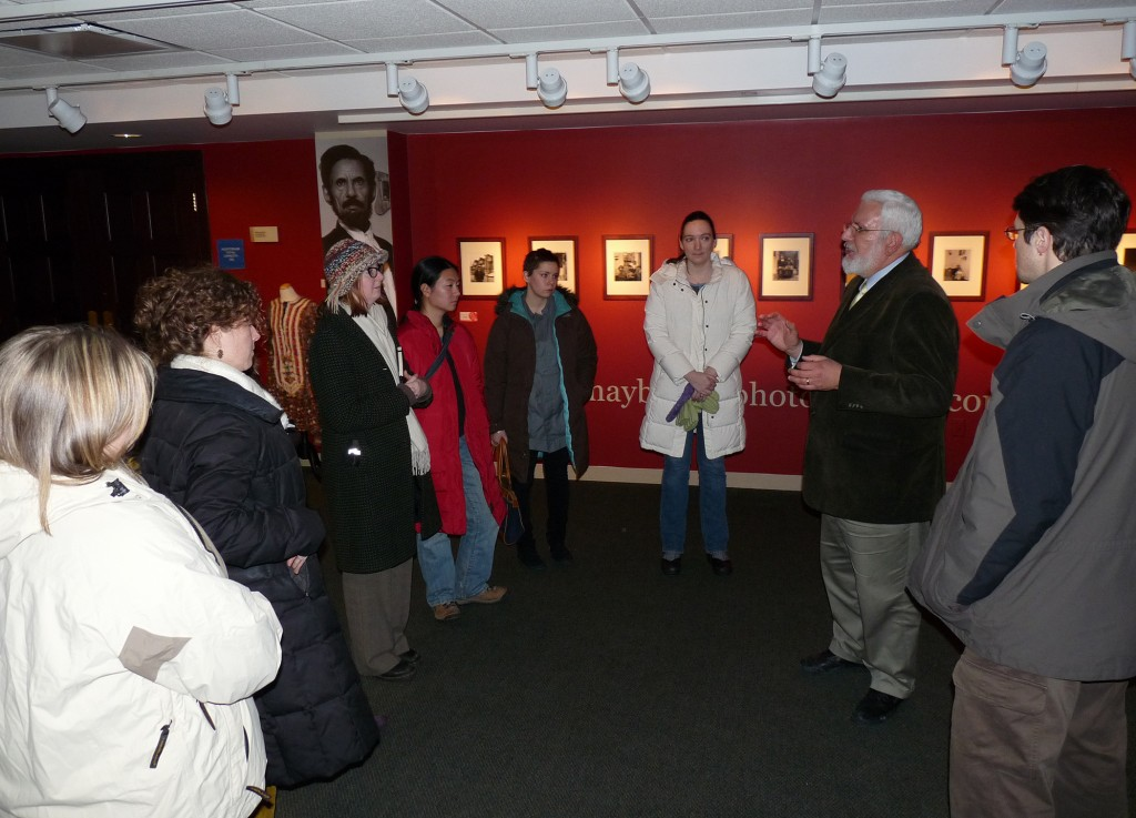 MSP08 with Curator Steve Williams at the Arab American National Museum
