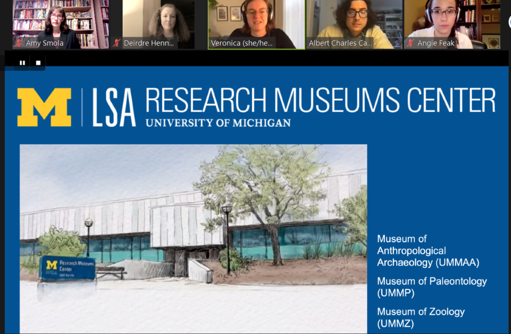 Capstone Project at Research Museums Center